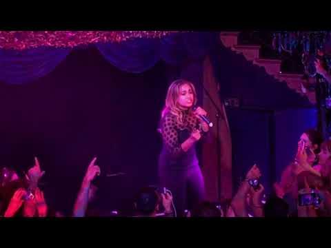 "Jessica Mauboy singing ""We Got Love"" (Australia 2018) at London Eurovision Party 2018"