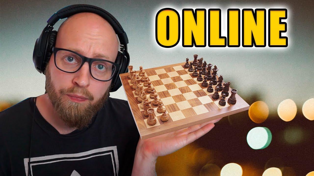 Spiller Skak Online For Første Gang