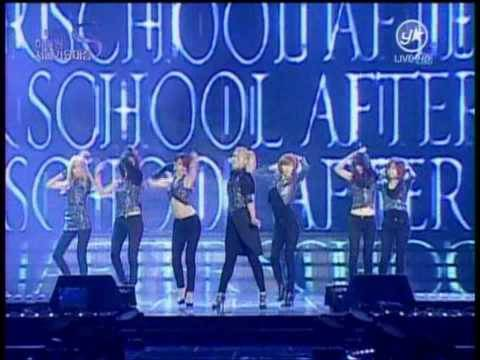 [HD] After School -  Because Of You [Remix] Seoul Music Award 20100203