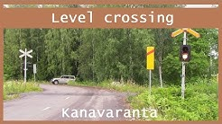 Kanavaranta. light and sound warning device Varkaus