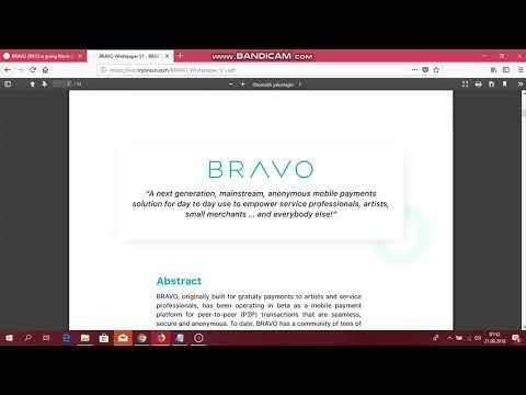 Bravo  SSS ve whitepaper incelemesi TR