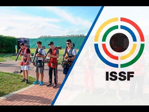 Finals Double Trap Men Junior - 2015 ISSF Shotgun World Championship in Lonato (ITA)