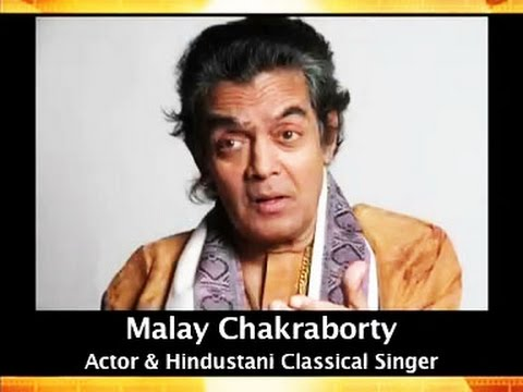 Actor/ Classical Singer Malay Chakraborty with Great Musicians