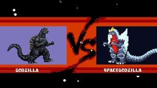 VERSUS! Godzilla vs  Spacegodzilla