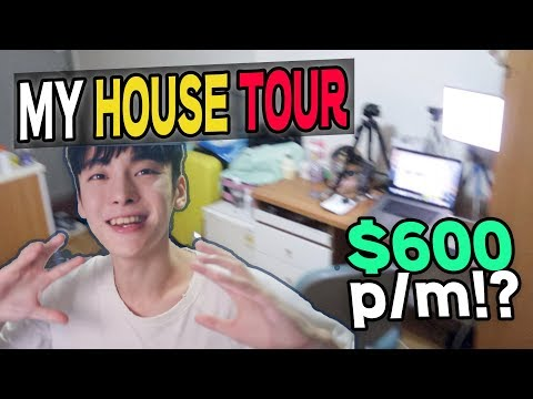 My house tour // $600 Monthly Studio in Seoul!