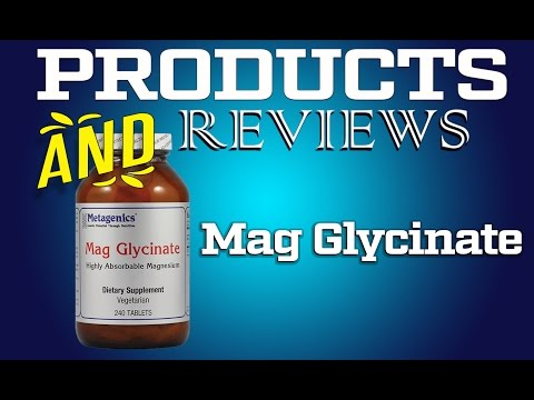 Magnesium Glycinate -  Metagenics Review
