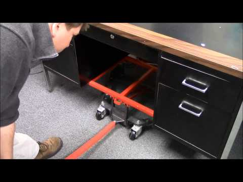 Versatile Desk & Lifter Mover Demonstration (Part No. 338)