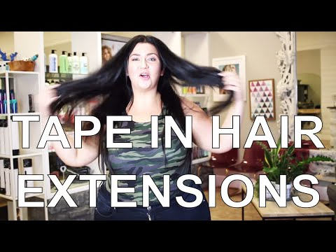 ARE THEY WORTH THE $$$ ? MY TAPE IN HAIR EXTENSION REVIEW - OVER 4 MONTHS! | Sometimes Glam