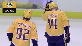 Mattias Ekholm goal vs MIN Oct 15, 2018