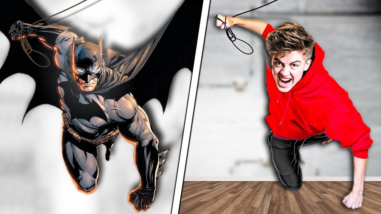 We Tried DC Stunts In Real Life! - Challenge