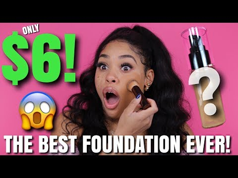 I FOUND THE BEST FOUNDATION EVER AND ITS ONLY $6.00!!!