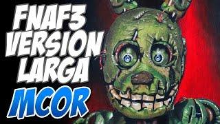 Como Dibujar al Nuevo Personaje (SpringTrap) de FNAF3 | Versión Larga