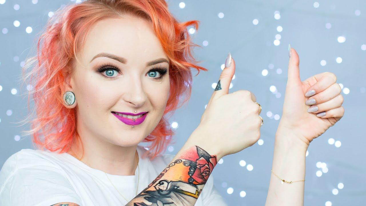 Ulubieńcy Marca Nowy Tatuaż Macklemore Catrice Makeup Geek Red Lipstick Monster