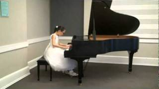 J.S. Bach Prelude and Fugue No.17 in A flat major BWV 862 in Book 1 played by Hannah Park
