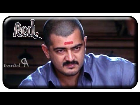 Red Tamil Movie | Scenes | Ajith donates money for a school | Priya Gill | Raghuvaran | Deva