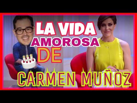 ¡LA HISTORIA DE AMOR DE CARMEN MUÑOZ! FUE A PRIMERA VISTA