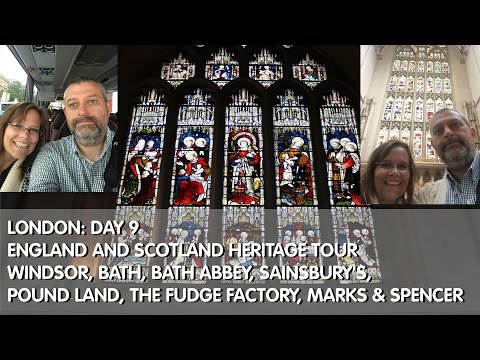 London: Day 9 Starting Trafalgar Coach Tour England and Scotland Heritage: Windsor, Bath, Bath Abbey