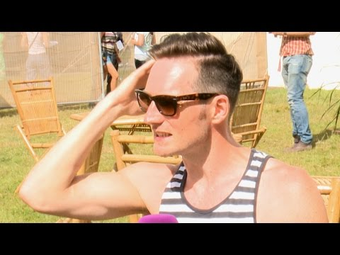 Dan from The Feeling at Cornbury Festival 2014 - Interview