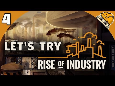 Rise of Industry 2.0 - Ep. 4 - ORCHARDS, FURNITURE, AND FOOD - Lets Play Rise of Industry Gameplay