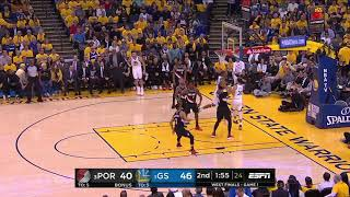 Enes Kanter All Actions 05/14/19 Portland Trail Blazers vs Golden State Warriors Game 1 Highlights