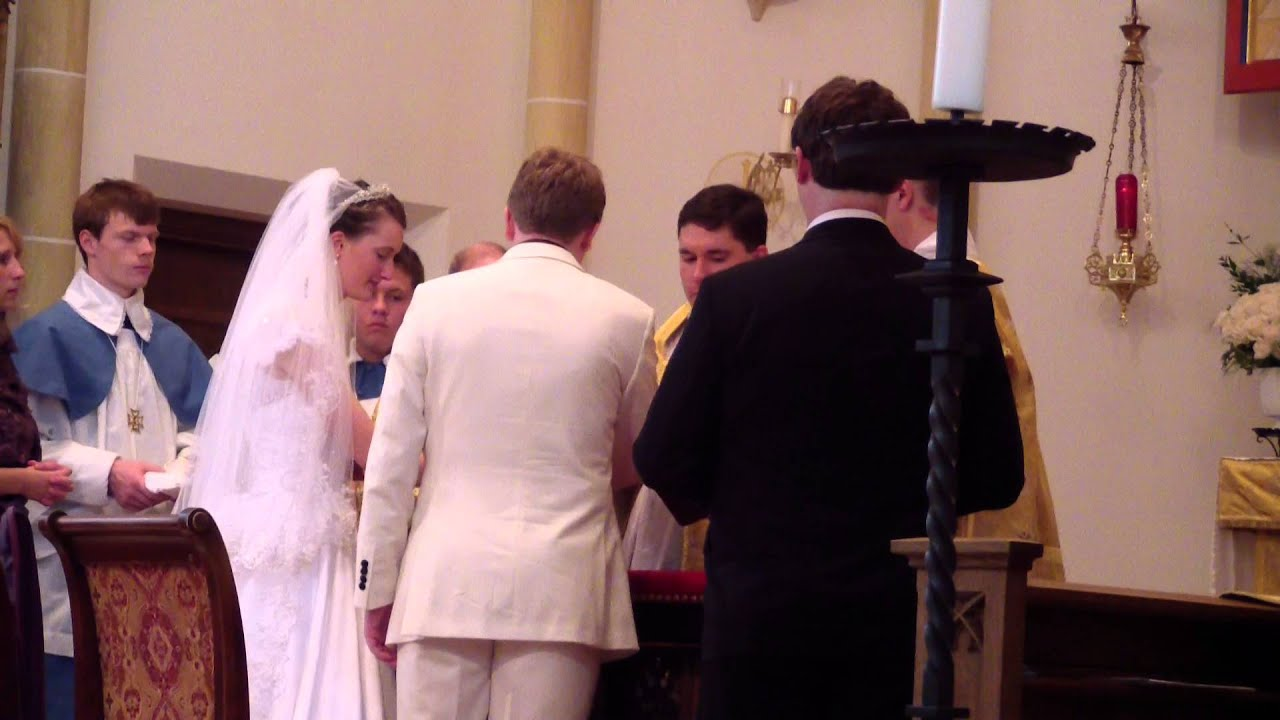 Traditional Latin M Wedding St Mary S Oratory Part 1 Of 8