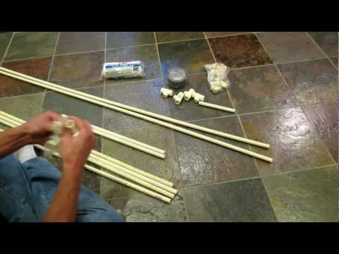 Building A (MINI) Collapsible Vegetable Garden PVC Greenhouse/Cold Frame - The Rusted Garden 2013