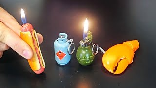 10 Weirdest Lighters Ever Made! - Part 3