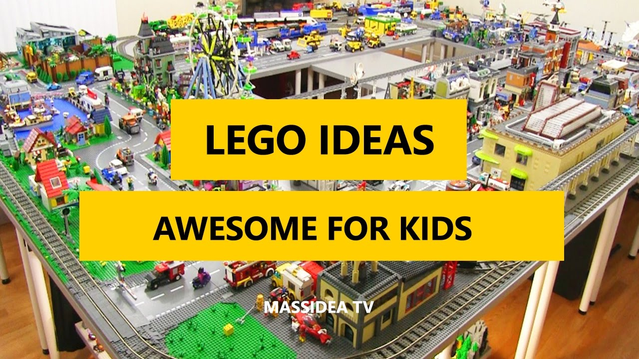 50+ Cool LEGO Ideas Awesome for Kids 2017 - YouTube on Awesome Ideas  id=93942