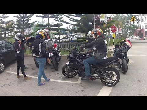 Haze weekend pillion group ride