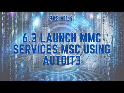 AutoIt3 Launch MMC Snap-ins Connecting Through PSM