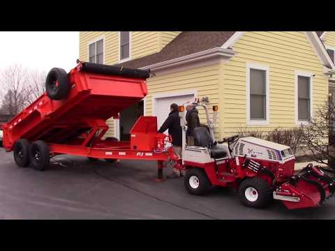 Tools in Action Crew Reviews Dump trailers for landscaping, Construction, Equipment or Lawn care