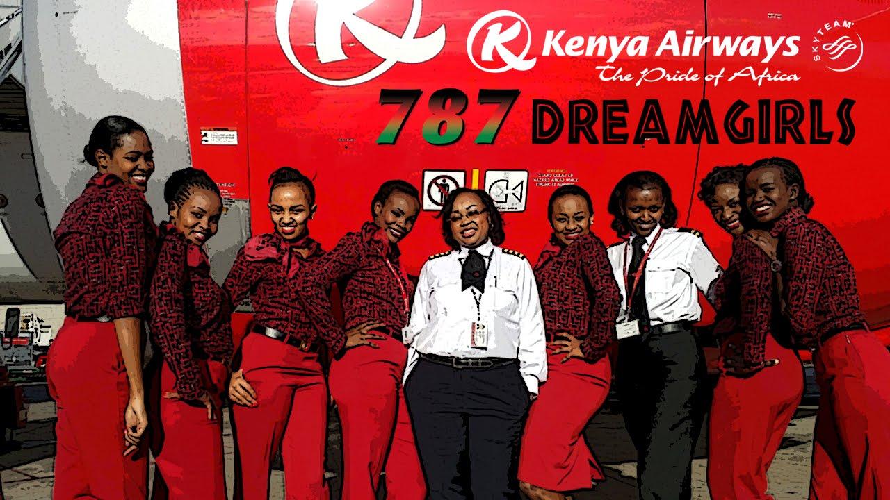 Kenya Airways 787 Dreamgirls