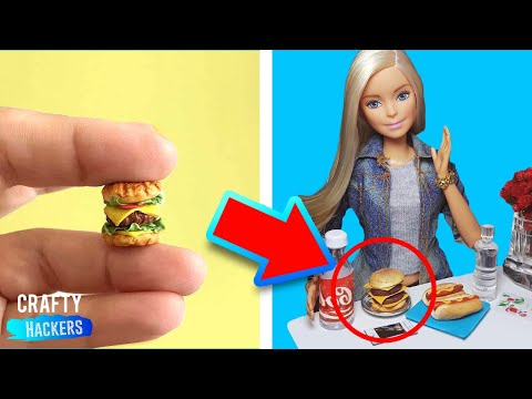 20 AWESOME DIY ACCESSORIES FOR YOUR TOYS!!