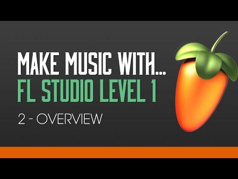 FL Studio 11 Beginners Level 1 Tutorial 2 - Overview