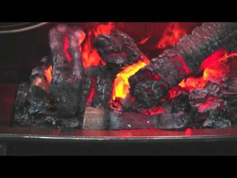 Rothesay Brass Очаг Dimplex Opti-Myst. Видео 1