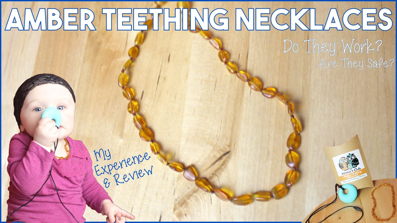 Amber Teething Necklace Do They Work Are They Safe My Review