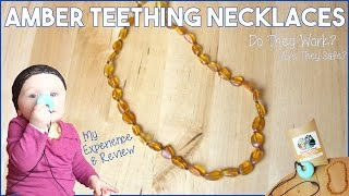 Amber Teething Necklace - Do They Work ? Are They Safe ? - My Review & Experience - Powell's Owls