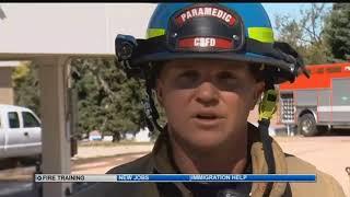 CSFD High Rise Fire Training