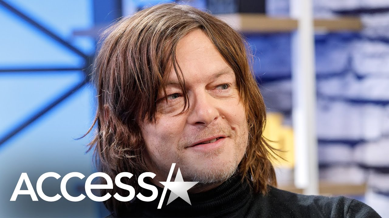 Norman Reedus Sings ABCs With Daughter