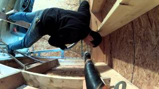 Installing Torsion Springs High Lift Garage Door - 86 - My Diy Garage Build Hd Time Lapse