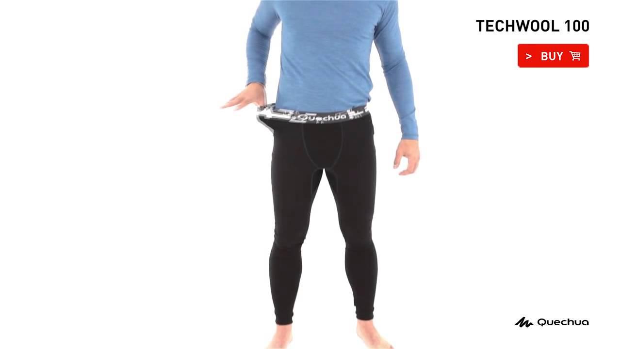 Calça Techwool 100 Masculina - Exclusividade decathlon. Decathlon Brasil 11e836350ef74
