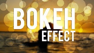 Photoshop Tutorial : Bokeh Effect