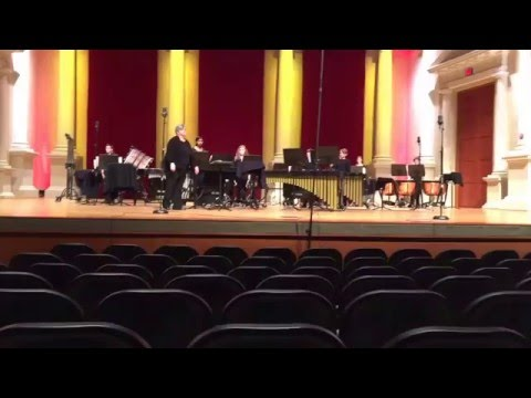 High Meadows School (first) Percussion Ensemble at Lassiter High School's Percussion Symposium