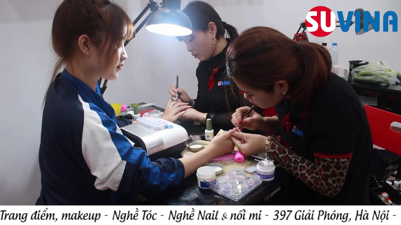 Học nghề nail ở đâu, dạy nghề làm móng ở đâu Hà Nội
