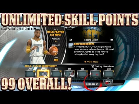 <b>NBA 2k14</b> my career <b>cheat code</b> for a max player skill points - YouTube