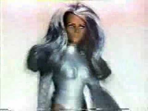 Wonder Woman vs. Nubia Action Figures Commercial from 1970