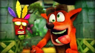 WELCOME TO MY CHILDHOOD | Crash Bandicoot Warped (N. Sane Trilogy)  Part 1