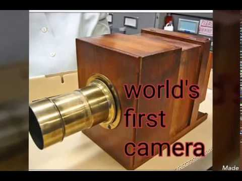 world's first camera - YouTube