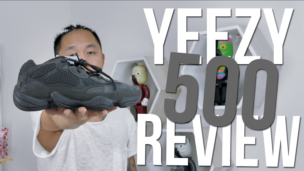 f7add9d0502 ADIDAS YEEZY 500 UTILITY BLACK    REVIEW + UNBOXING - YouTube