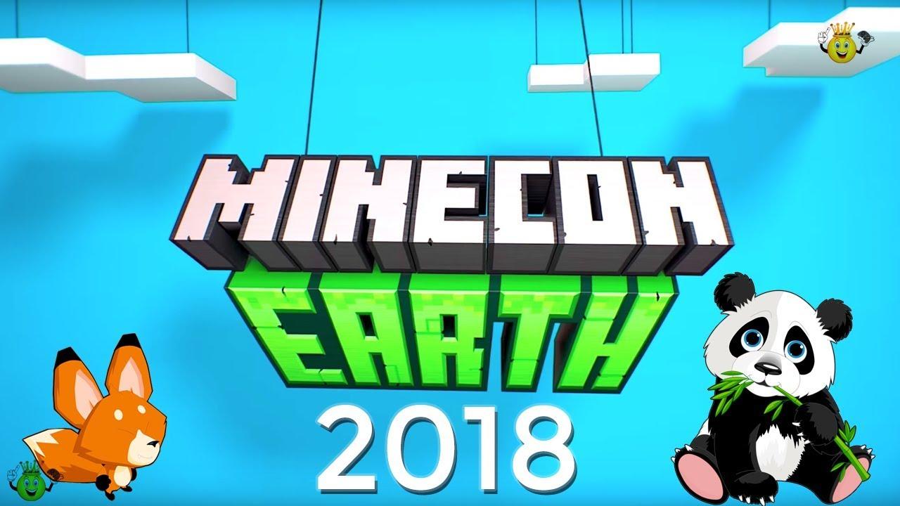 tudo que foi anunciado minecon earth 2018 minecraft youtube